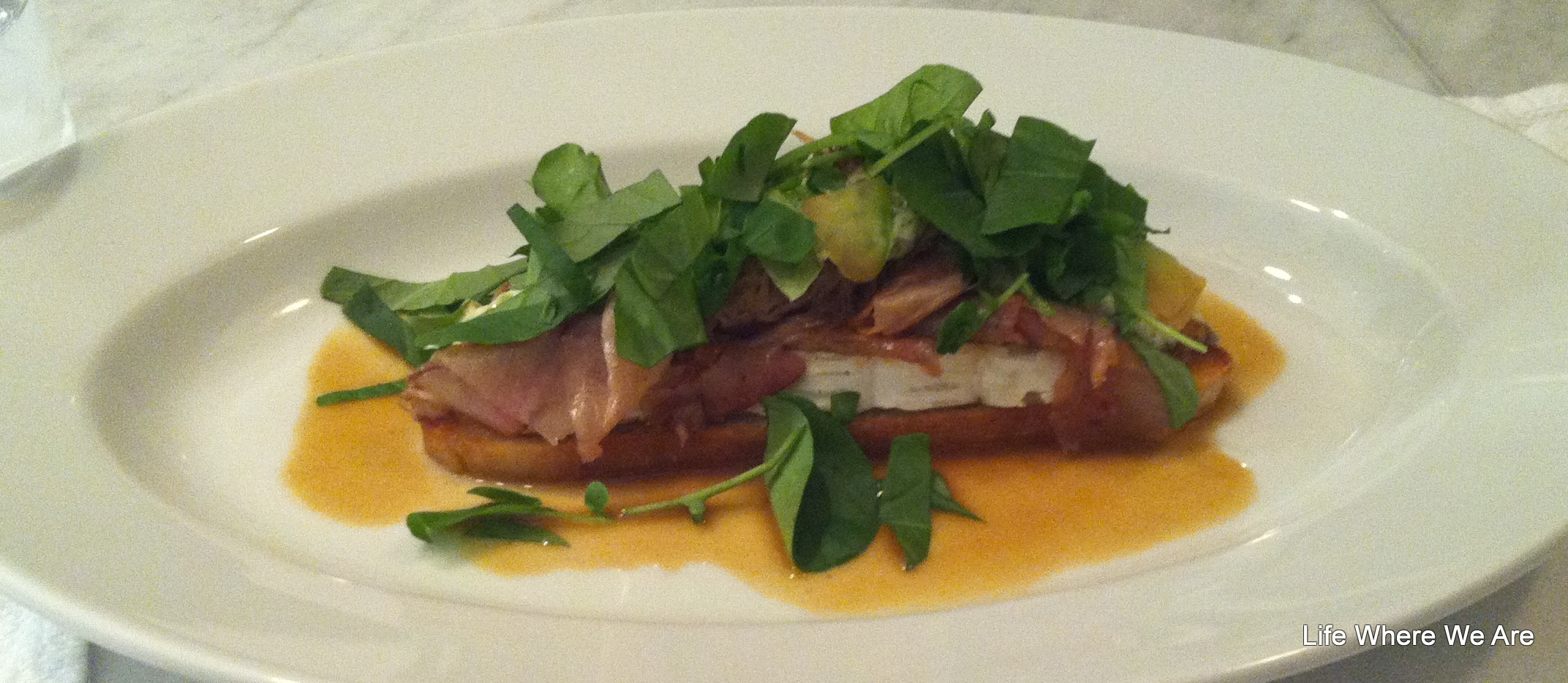 Smoked Veal on Toast - Model Milk 2012