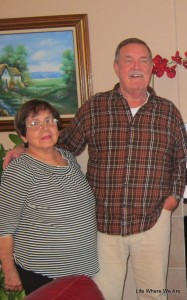Grandpa Chuck and Abuelita