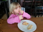 Anya Vroon enjoyed the PB&J Cake too!