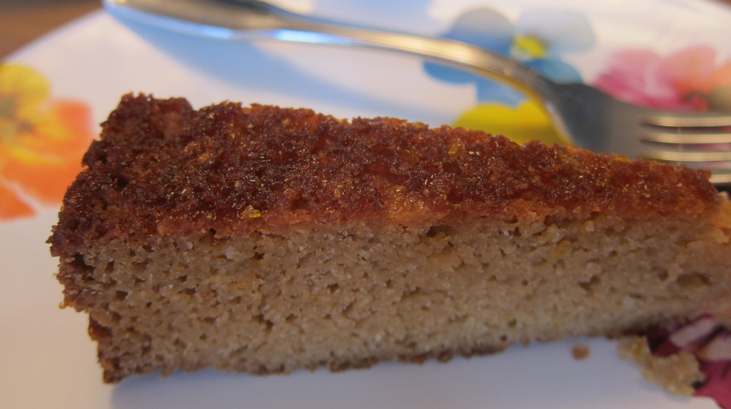 A slice of Paleo heaven! Meyer Lemon Paleo Cake