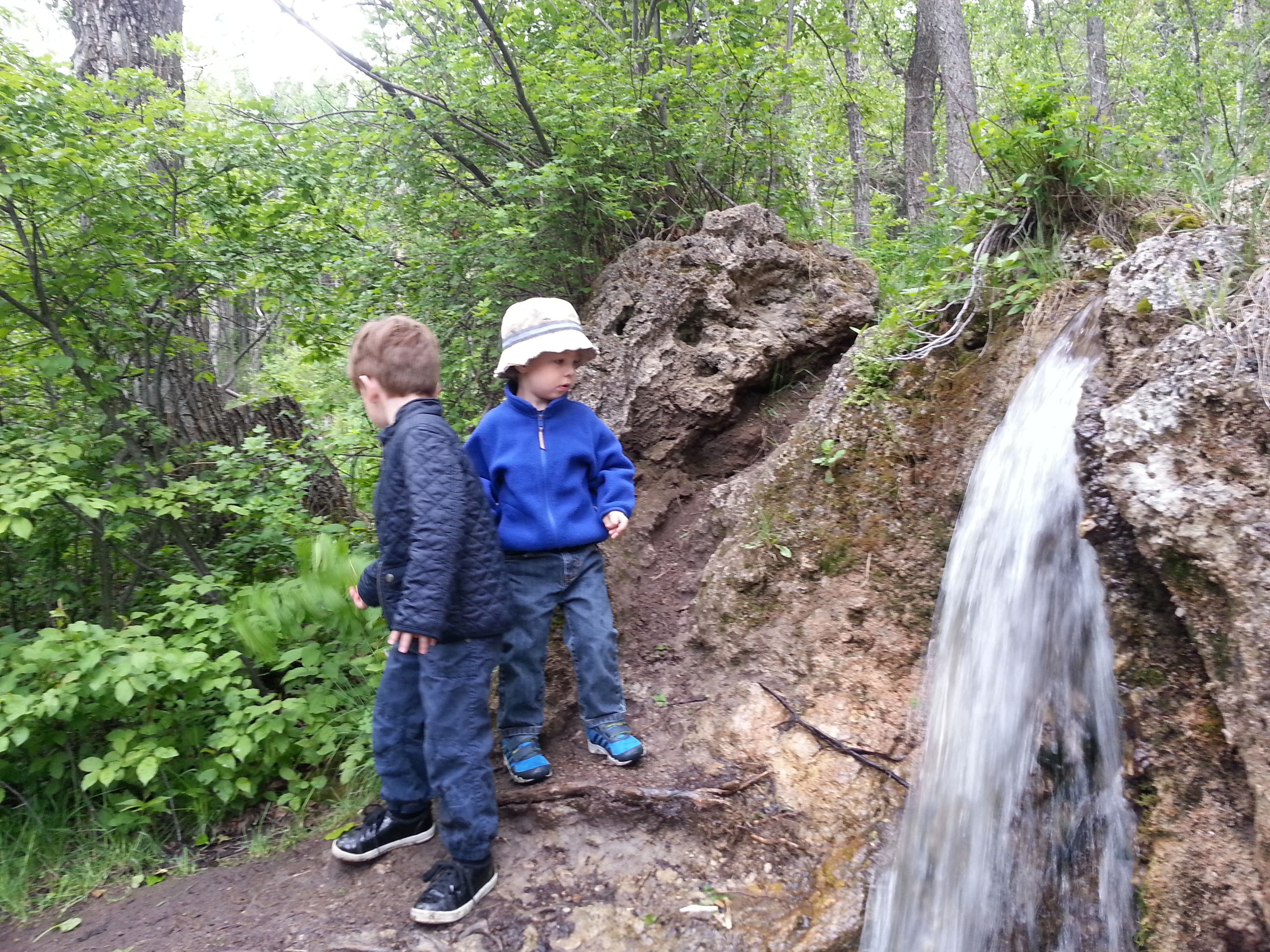 At the end of the day, Max said his favorite part was seeing the humongous waterfalls.