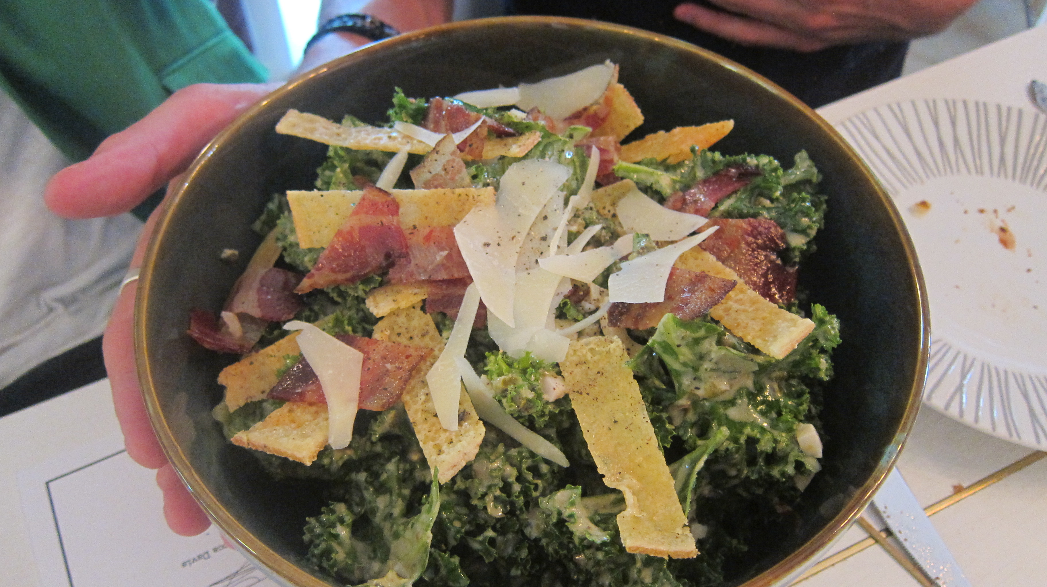 Kale And Smoked Bacon Salad With Zinfandel Vinaigrette ...