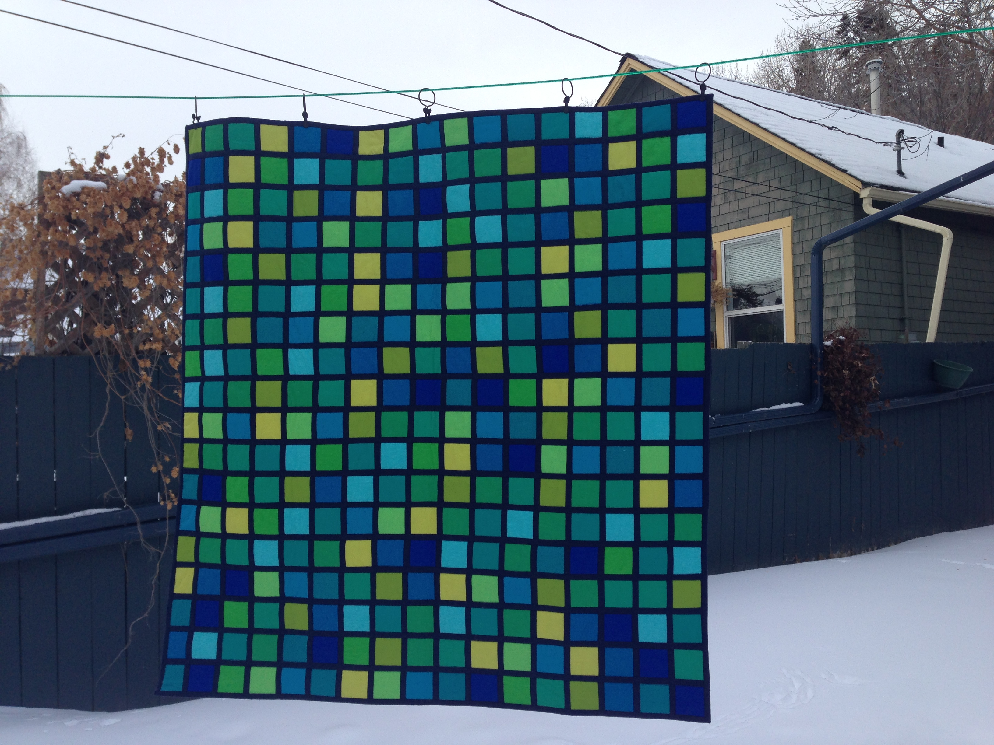 This is not your grandmother's quilt.
