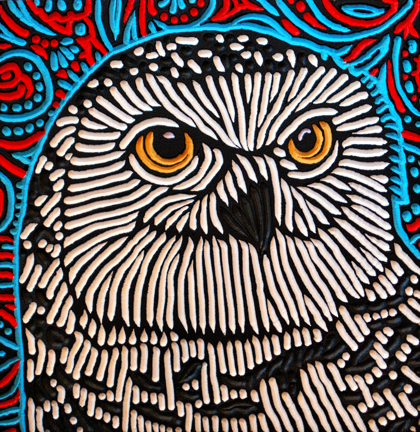 A lot of people have fallen in love with owls over the past couple of years. This would be a great addition to a collection or beautiful as a stand-alone piece.