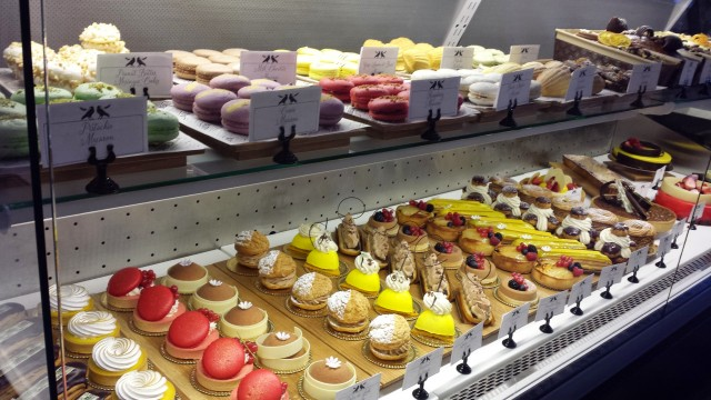 Eye-catching pastries at Corbeaux Bakehouse.