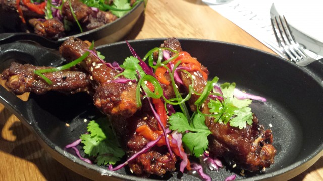 Apparently, these Crispy Asian Duck Wings are so popular that they sell out really fast!
