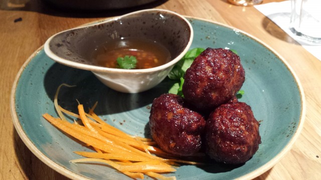 These meatballs are really good and I really like them paired with the steam buns pictured below.
