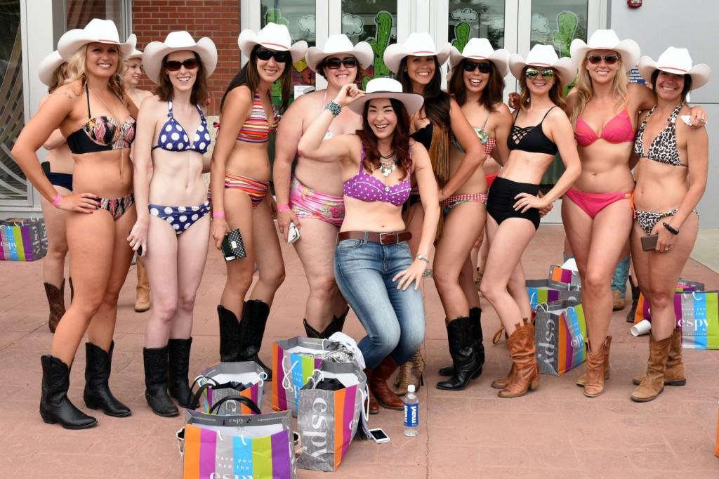 Calgary photographer, Doug Wong, captured Megan along with some of us Bikini Espy participants.
