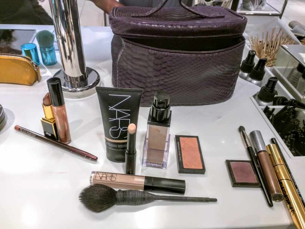 Products recommended to stock my basic makeup bag.