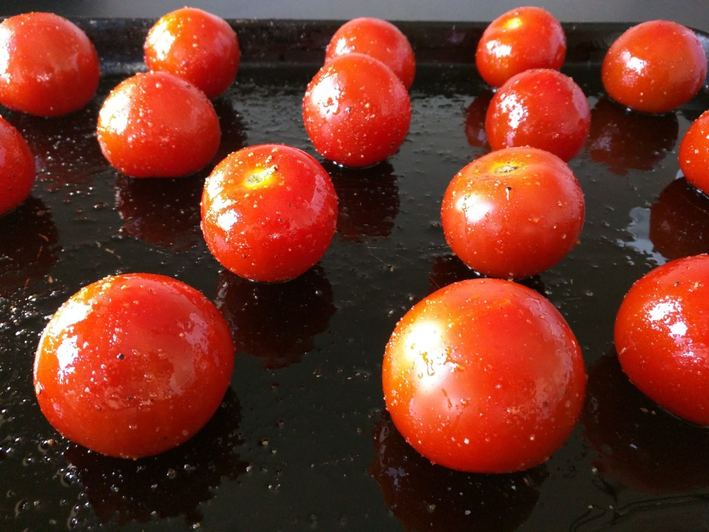Chef Roger Mooking recipe slow-roasted tomatoes