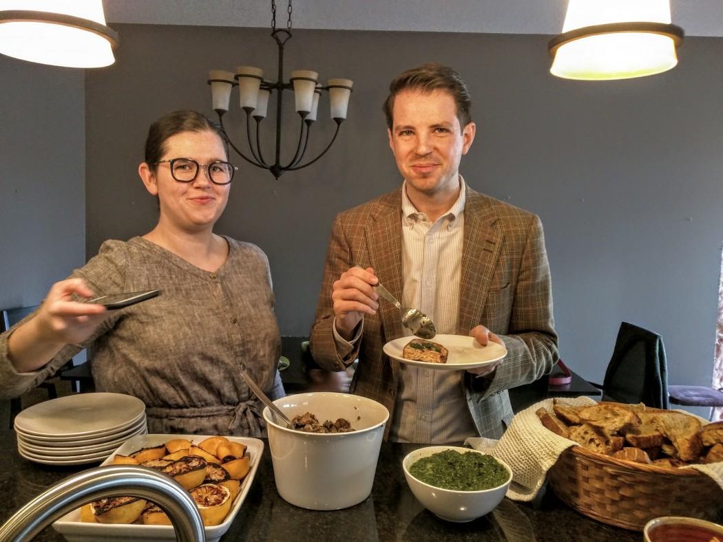 Mushroom Toasts, Roger Mooking recipe