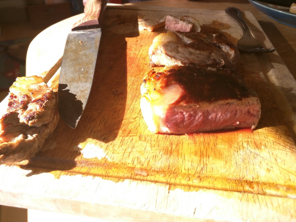 Grassfed beef tastings should be a regular thing...not just for ranchers. Let's eat!