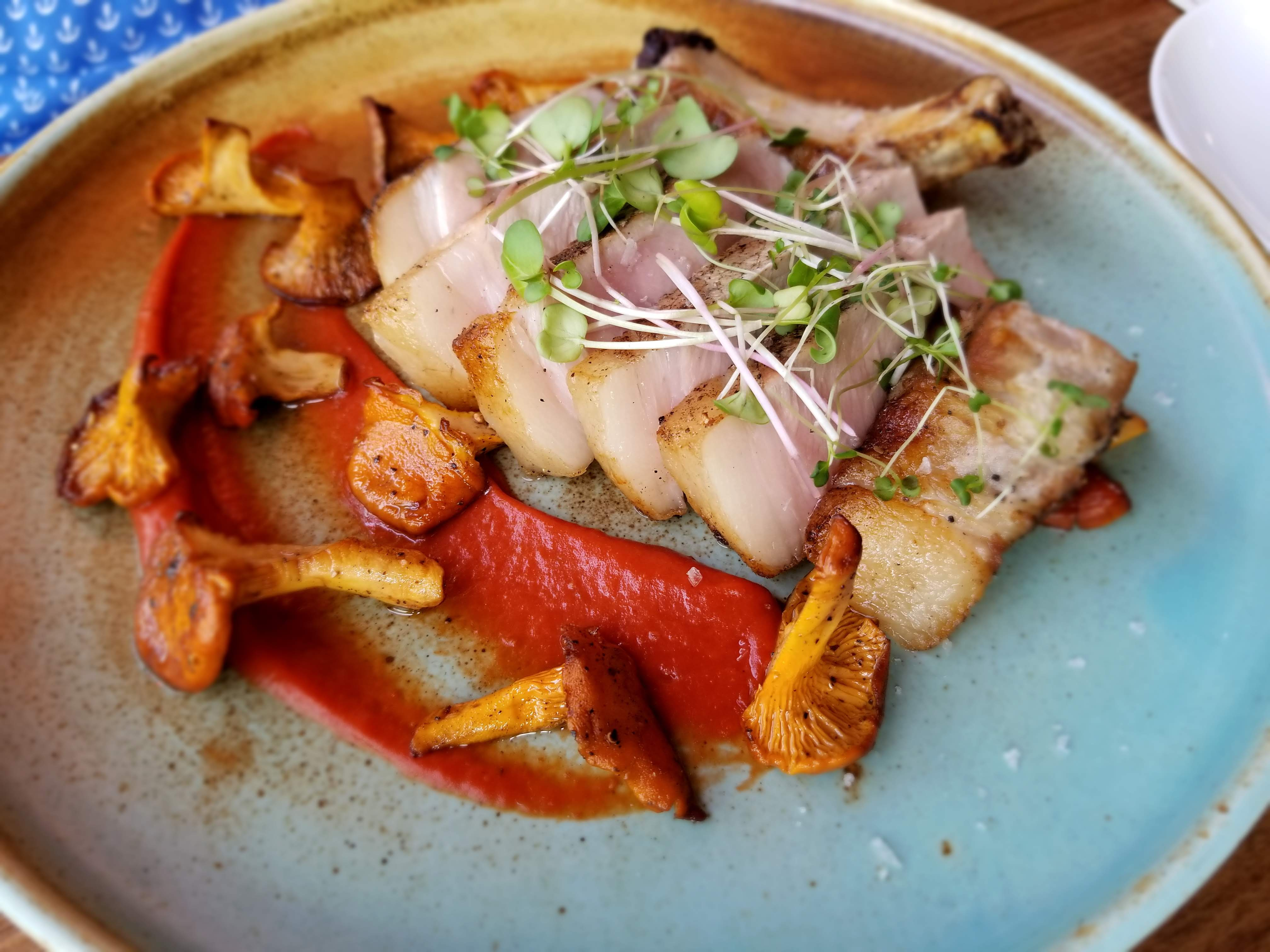 Brined & Smoked Alberta Pork Chop - Brasserie Kensington Summer Feast 2018
