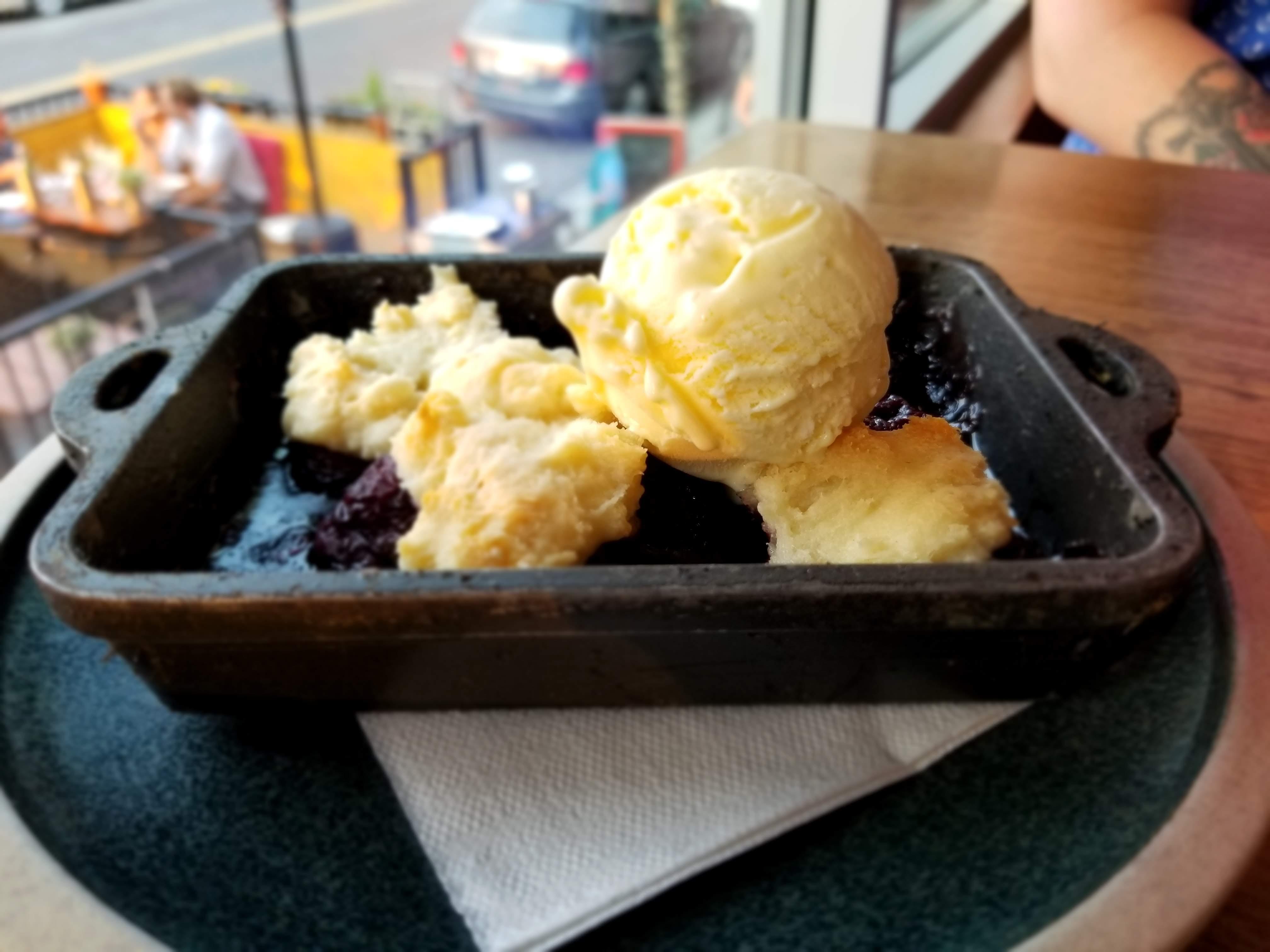 B.C. Cherry Cobbler - Brasserie Kensington Summer Feast 2018