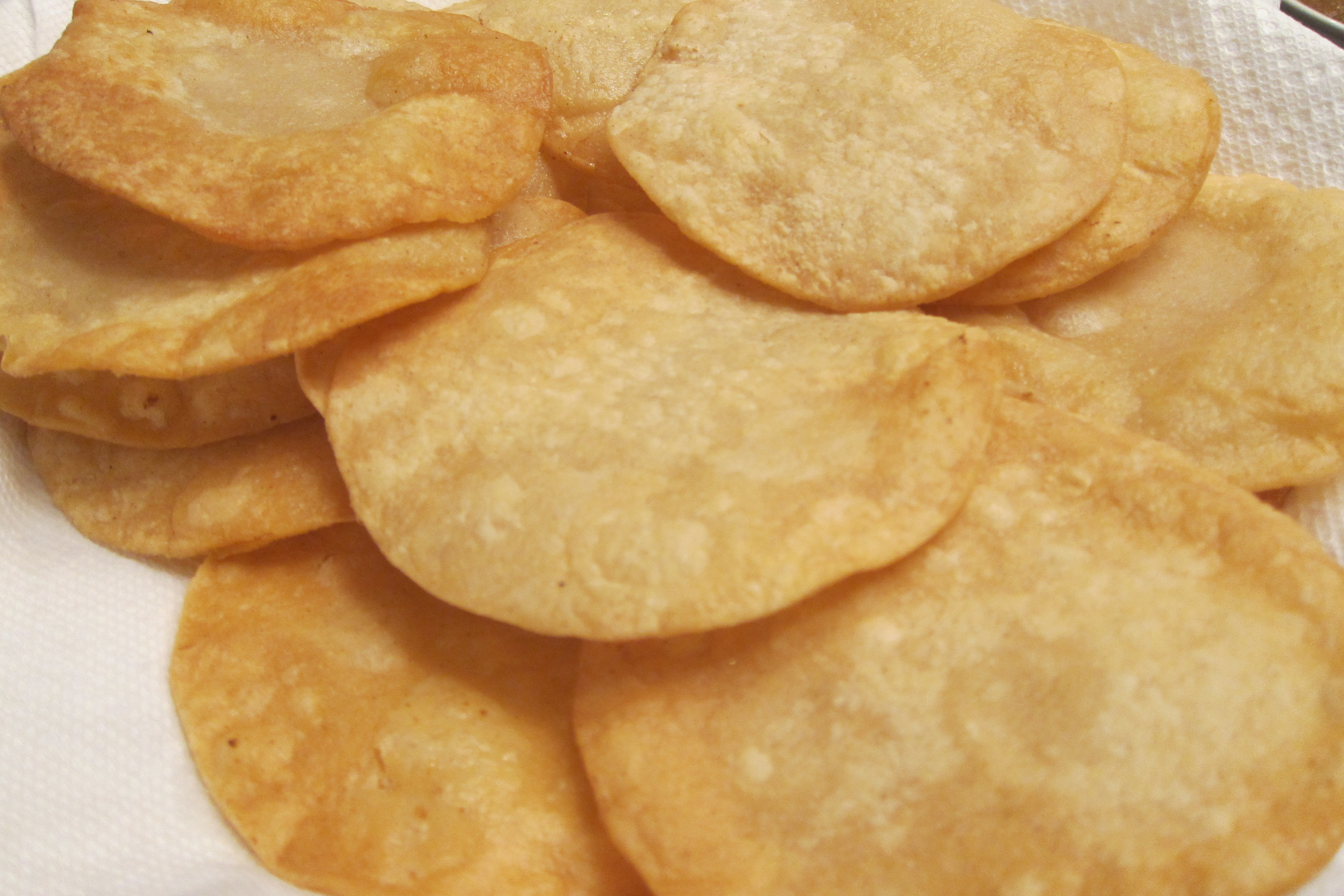Fresh Fried Tortillas