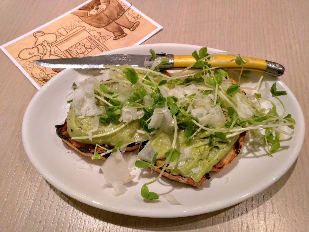 Avocado Toast at Ten Foot Henry