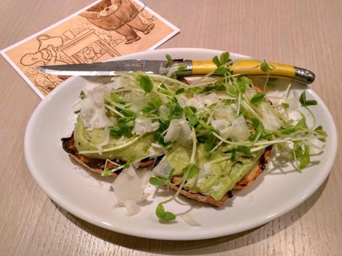 Avocado Toast at Ten Foot Henry