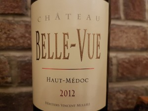 2012 Château Belle-Vue (Haut-Médoc) a cabernet that pairs well with Blue Cheese and Braised Meats. Bricks Wine Company