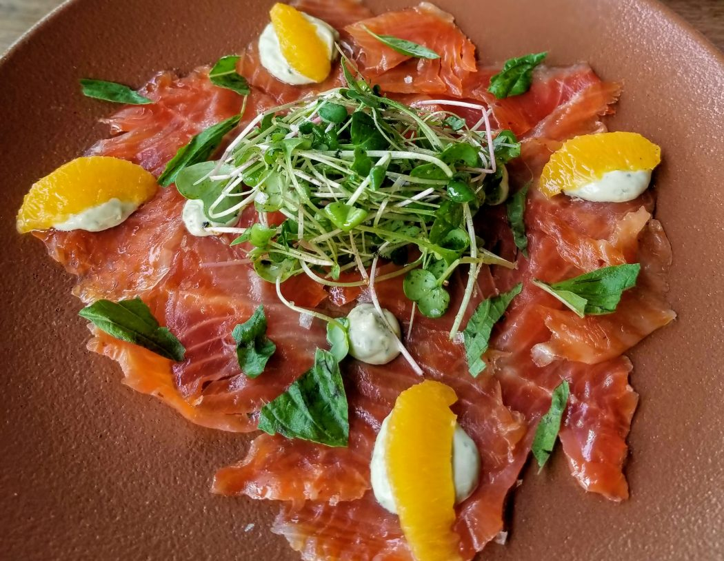 Gravlax - Brasserie Kensington Summer Feast 2018