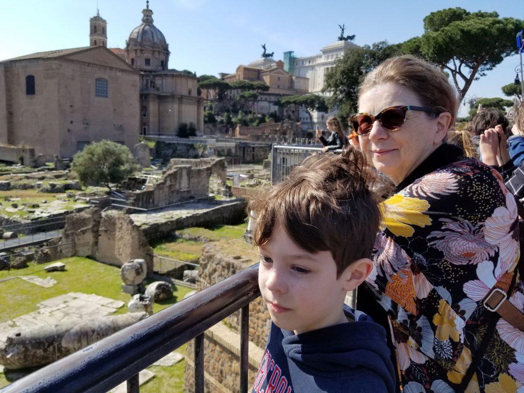 Ruins, Rome, Italy.