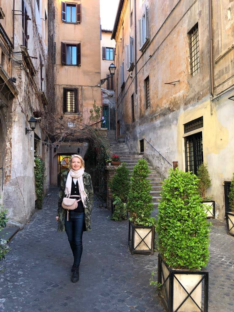 Via Dei Coronari, Rome Italy